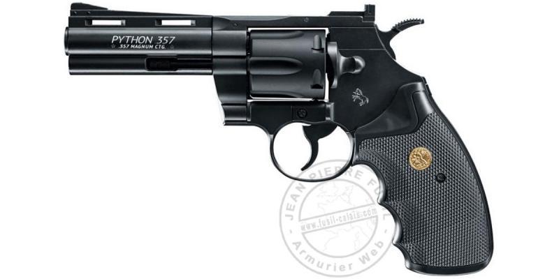 """UMAREX - COLT Python 4"""" CO2 revolver - .177 bore - Black"""