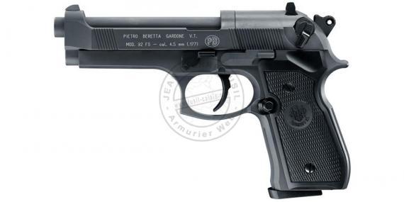 Pistolet 4,5 mm CO2 UMAREX - BERETTA 92 FS Sniper Grey (3,6 joules)
