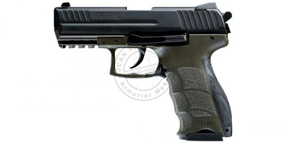 HECKLER & KOCH P30 ODG blank firing pistol - Olive- 9 mm blank bore