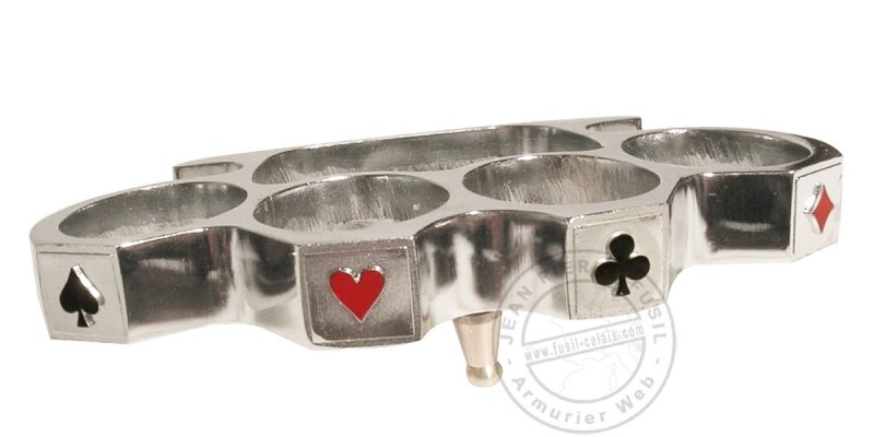 Poker Knuckle Duster