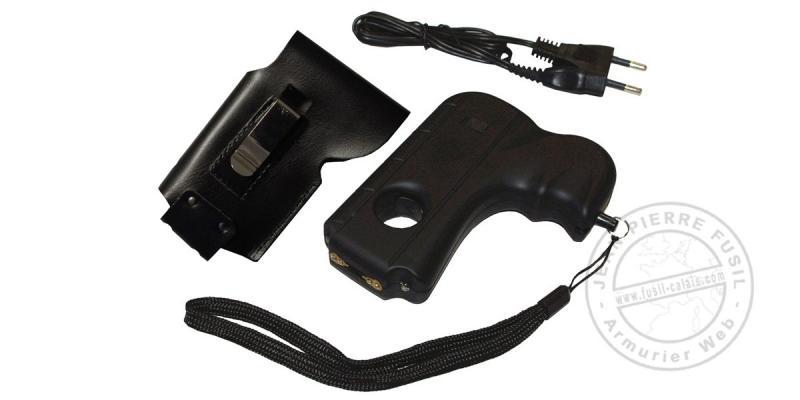 Poing électrique - Pistolet Police Security 2 000 000 V rechargeable + 2 leds