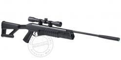 Carabine 4,5 mm CROSMAN FURY II BLACKOUT - Noire + Lunette 4x32 (-20 joules)