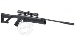CROSMAN FURY II BLACKOUT Rifle - .177 rifle bore - Black + 4x32 scope (-20 joules)