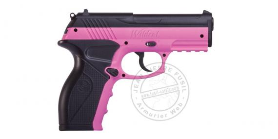 Pistolet à plomb CO2 4.5 mm CROSMAN P10 Wildcat Pink (3.5 joules)