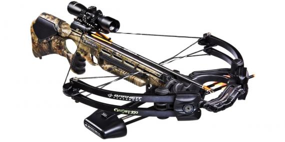 BARNETT Ghost 350 camo crossbow 175 Lbs + quiver + 3x32 scope