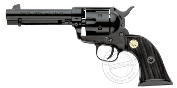 KIMAR 1873 Single Action revolver - Black - 6mm /22Lr blank
