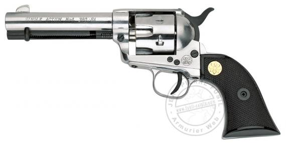 Revolver KIMAR 1873 Single Action - Chromé - Cal 6mm / 22Lr à blanc