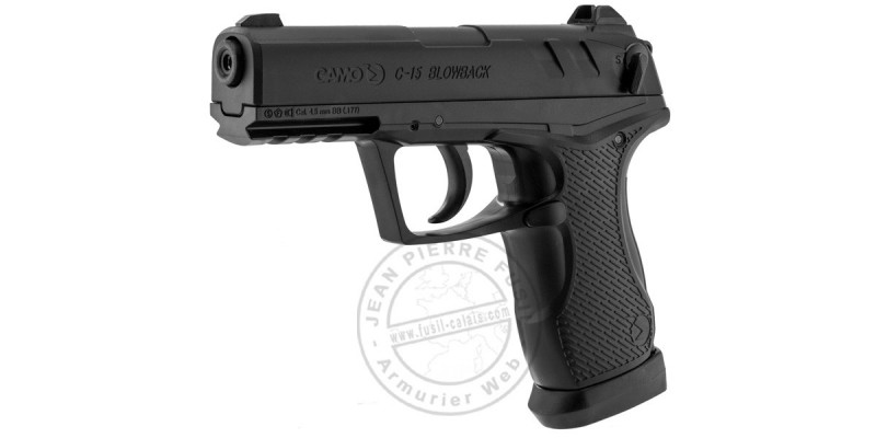 Pistolet 4,5 mm CO2 GAMO C15 Blowback (3,10 joules)