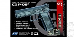 ASG CZ P-09 Duty - Blowback CO2 pistol - .177 bore (3.7 joules)