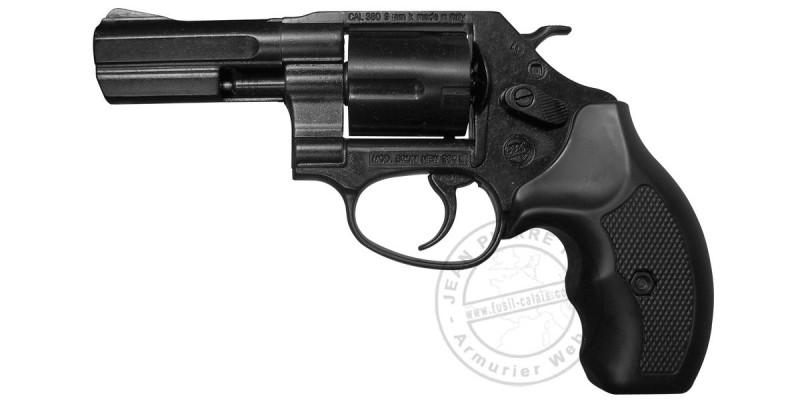 BRUNI NEW 380 L blank firing revolver - Black - 9mm blank bore