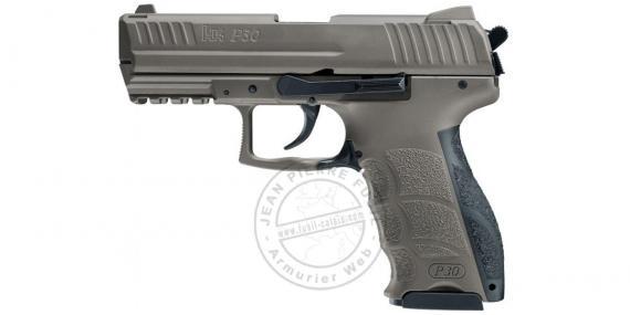 HECKLER & KOCH P30 FDE blank firing pistol - 9 mm blank bore