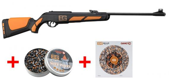 GAMO Bear Grylls Air Rifle Adventure Survival Set (19.9 Joules) .177 rifle bore