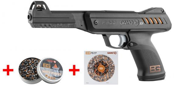 Pistolet 4.5mm GAMO P900 - Bear Grylls Survival Pistol Set (2.7 Joules)