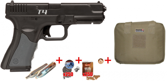 CROSMAN T4 CO2 pistol - .177 bore (4,2 joules)
