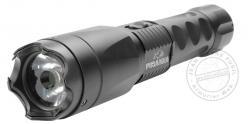 Poing électrique Lampe torche tactique - PIRANHA Flash Tac - 3 800 000V