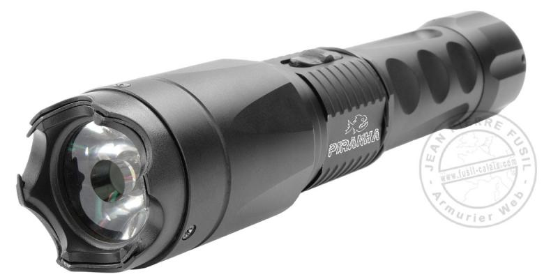 Tactical torch Stun gun PIRANHA Flash Tac - 3 800 000 V