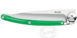 Couteau DEEJO COLORS 27g - Vert