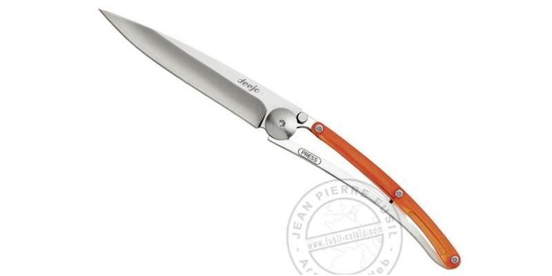 Couteau DEEJO COLORS 27g - Orange