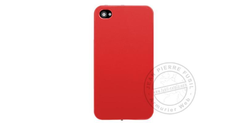 Ishock - Téléphone poing électrique 2 400 000 V + lampe - Rouge
