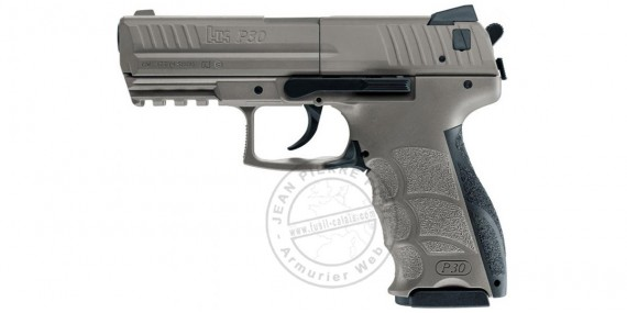 Pistolet à plomb CO2 4.5 mm HECKLER & KOCH P30 FDE (inf. à 3 joules)