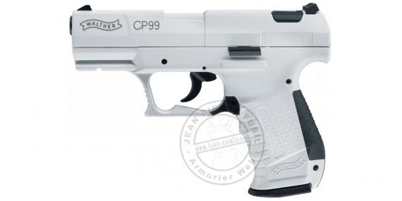Pistolet à plomb CO2 4.5 mm WALTHER CP99 Snowstar (3 joules max)