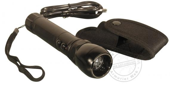 Police Security stun gun - tactical torch - 2 000 000 V rechargeable