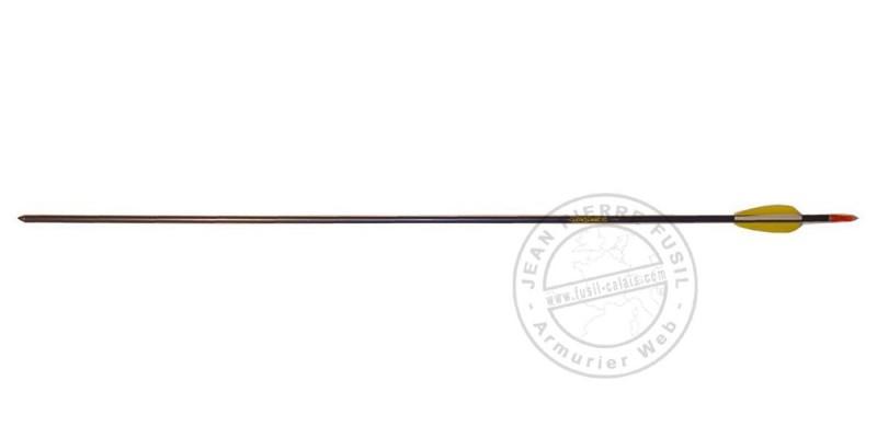 Flèches aluminium pour arc - x3