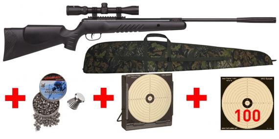Kit carabine 4,5 mm CROSMAN Nitro Venom Dusk (19.9 joules) - PACK PROMO