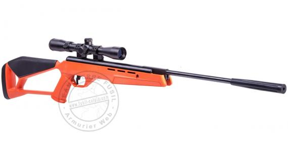 Carabine CROSMAN Blaze NP orange 4.5 mm (19.9 joules) + lunette 3-9 x 32