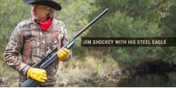 CROSMAN Steel Eagle - Jim SHOCKEY - 22 rifle bore + scope