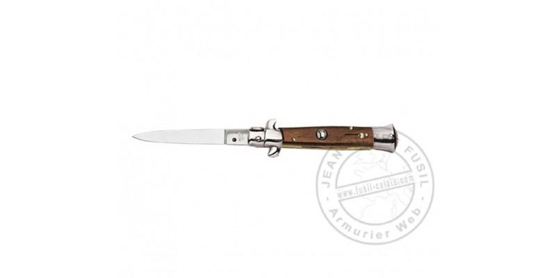 Couteau automatique - Palissandre - lame 8 cm