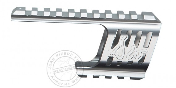 ASG - Custom rail mount for Dan Wesson 715 - Silver