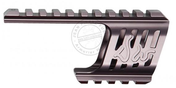 ASG - Rail de montage pour Dan Wesson 715 - Steel grey