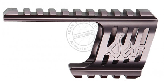 ASG - Custom rail mount for Dan Wesson 715 - Steel grey