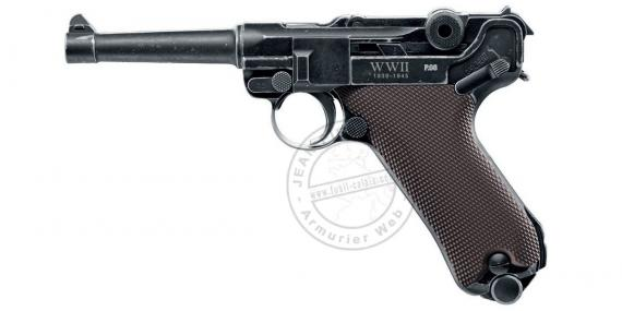 Pistolet à plomb CO2 4.5 mm UMAREX Legends P08 Parabellum WWII Edition (inf. à 3 joules)