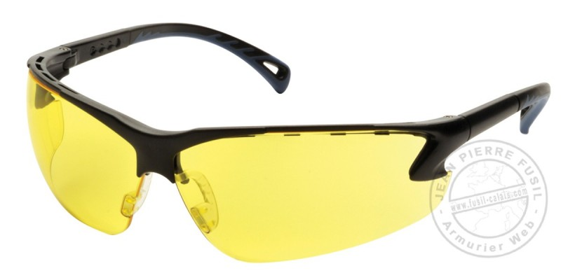 Lunettes de protection Soft Air - Jaune