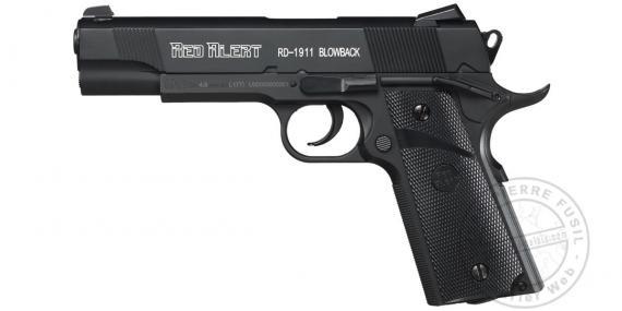 Pistolet à plomb 4.5 mm Red Alert RD-1911 Blow-back (3 joules)