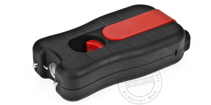 Electro Max BigShock stun gun - 3 200 000 V rechargeable + flashlight