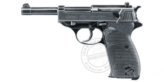 Pistolet à plomb CO2 4.5 mm WALTHER P38 Legendary Blow back (2,4 Joules)