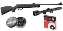GAMO Deltamax Force airgun kit + 4x28 scope - .177 rifle bore (6.52 joules) - 2016 CHERRY PACK