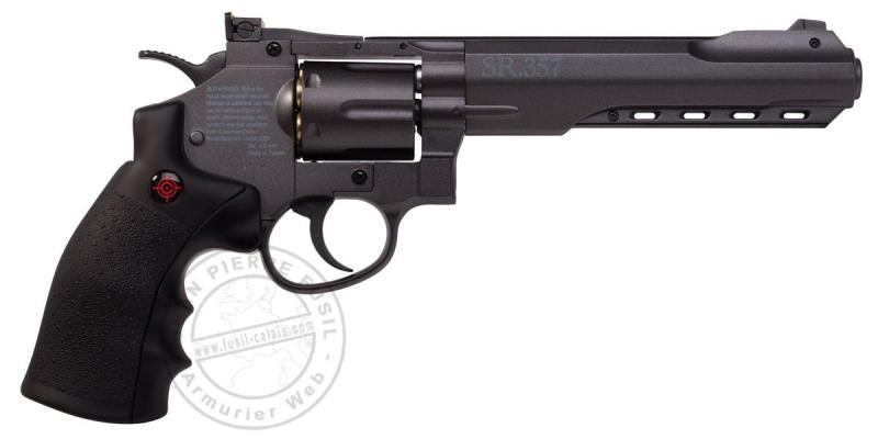 Revolver 4,5 mm BB CO2 CROSMAN - SR357 - noir (2,8 joules)