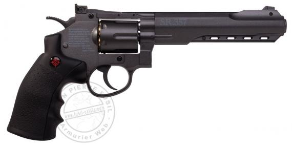 CROSMAN SR357 CO2 revolver - .177 BB bore - Black (2.8 joules)