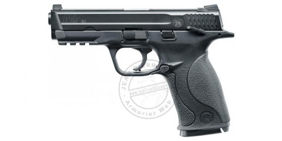 Pistolet à plomb CO2 4.5 mm SMITH & WESSON Mod. M&P 40 - BlowBack - Noir (1.4 joules)