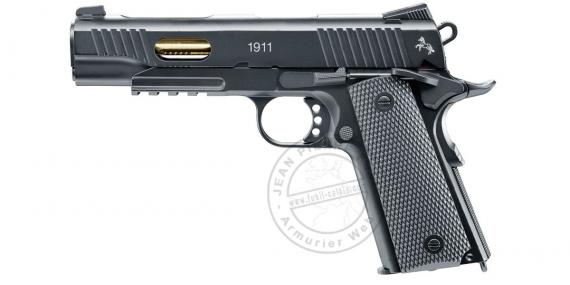 Pistolet à plomb BB 4.5 mm CO2 UMAREX - COLT 1911 Custom - Blowback - Noir (inf. à 3 joules)