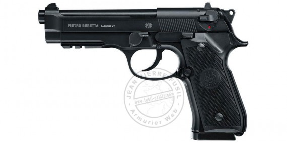 UMAREX - BERETTA Mod. 92 A1 CO2 pistol - Blowback - .177 bore (1,3 joules) - Semi or Full automatique