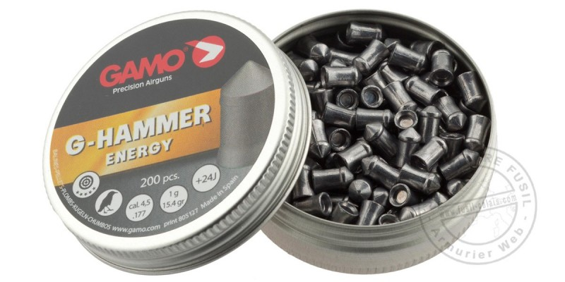 GAMO G-Hammer pellets - .177 - 2 x 200