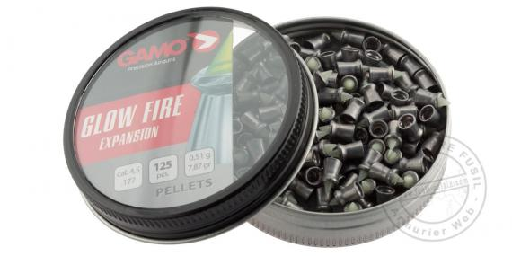 Plombs GAMO Glow Fire 4,5 mm / pour carabine