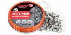 Plombs GAMO PBA Platinium 4,5mm 125
