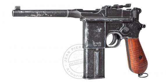 Pistolet à plomb 4,5 mm CO2 UMAREX Legends C96 WWII Edition - Full Auto - Blowback (1.9 joules)