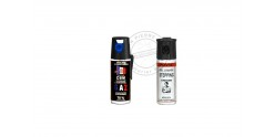 Set of 2 self-defence sprays 50ml CS gas + 50ml Pepper gel - PROMOTION